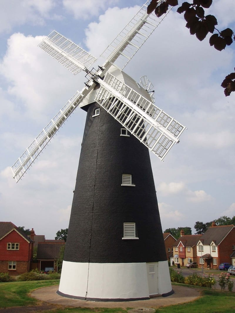 free things to do in croydon - Shirley Windmill