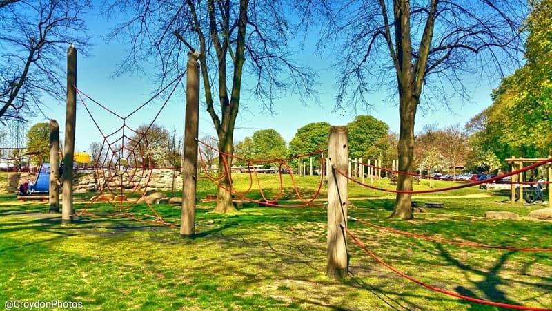 Greater London, Croydon, Wandle Park