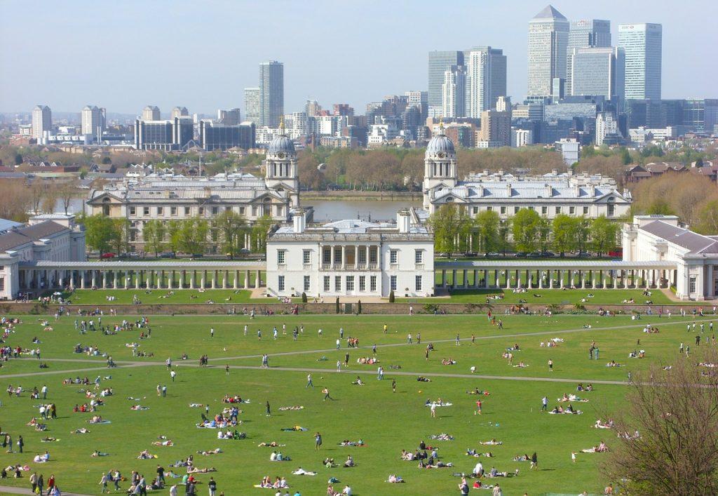 Parks in London - Greenwich